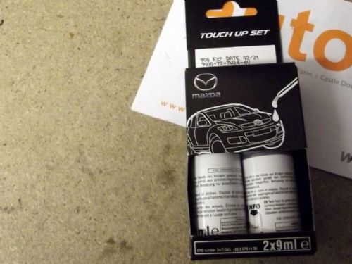 Paint touch up kit, genuine Mazda, 46V new Soul Red Crystal metallic
